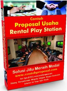 Contoh Proposal Rental Play Station