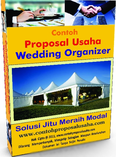 Contoh Proposal Usaha Wedding Organizer  Contoh Proposal Usaha
